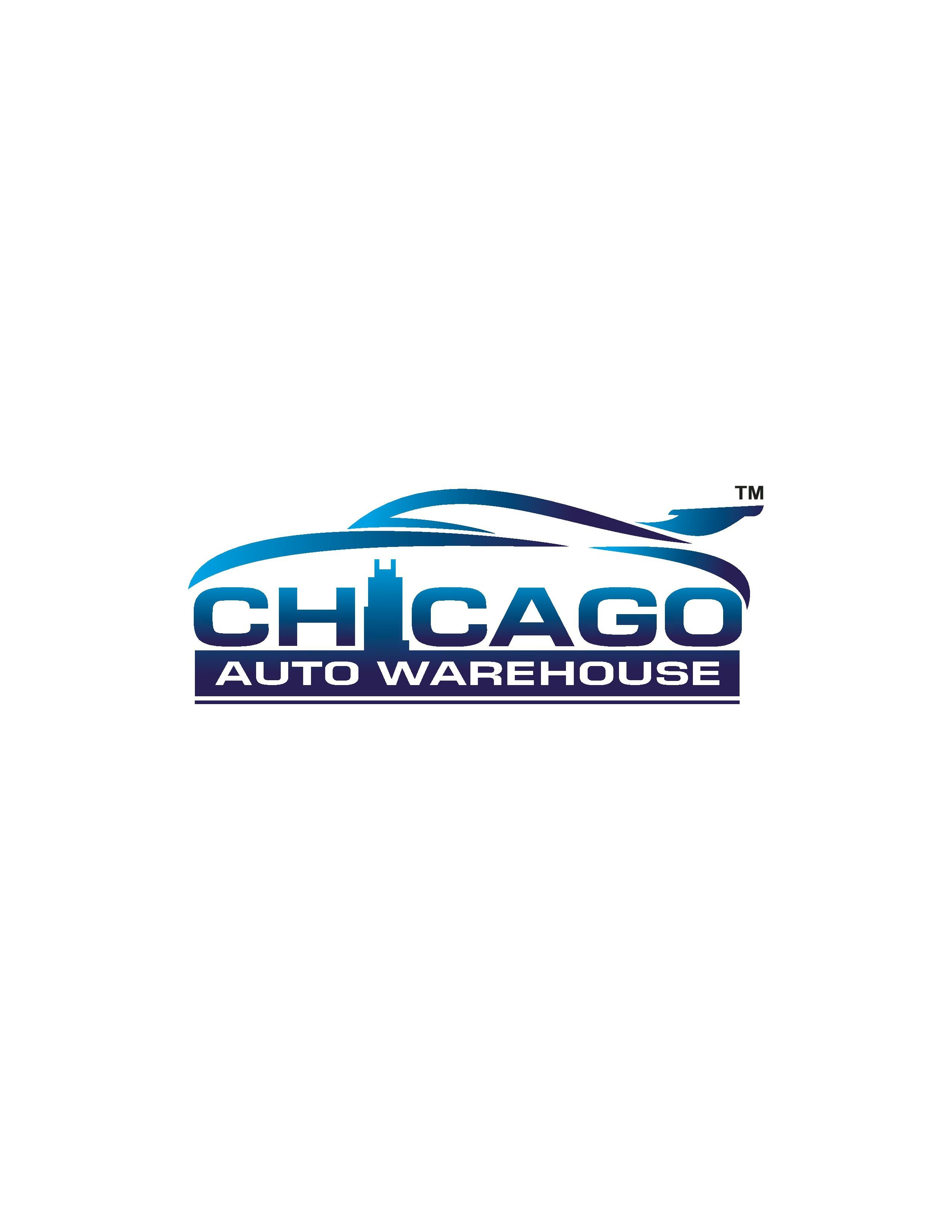 Chicago Used Car Dealership - Modern Logo