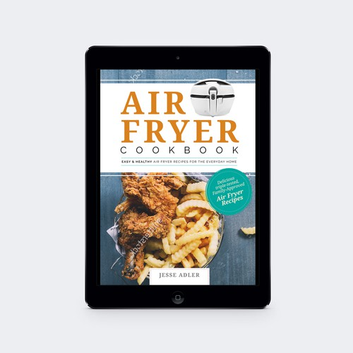 AirFryer Cookbook Cover