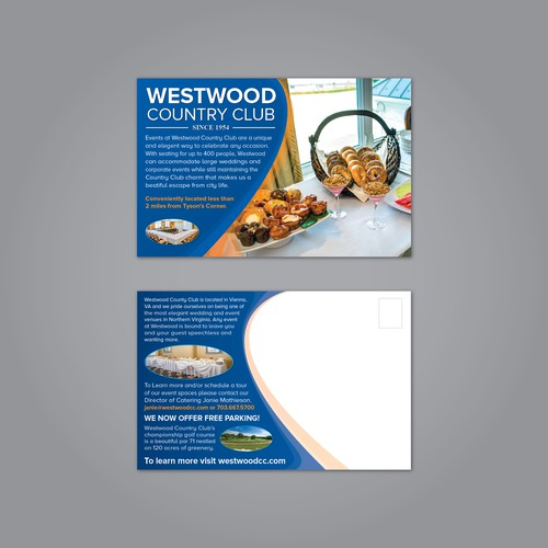 Postcard Concept for Westwood Country Club
