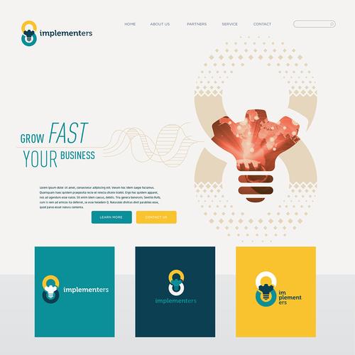 Winner design for Implementers logo contest