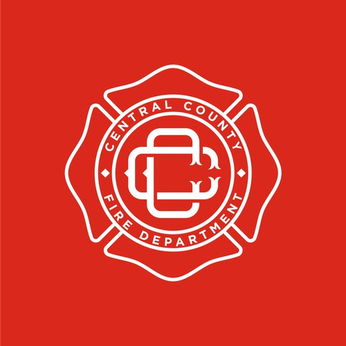 Classic Logo for a Fire Department