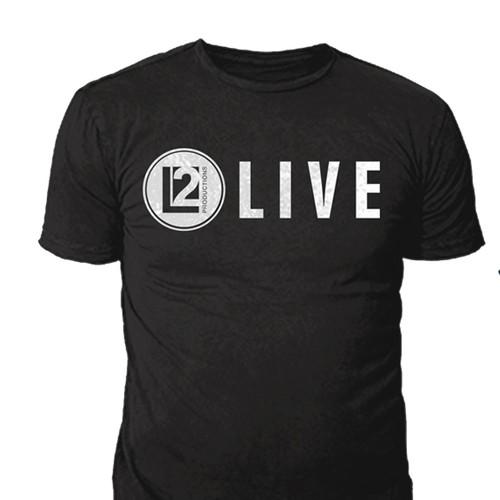 LIVE2 T shirt Designs