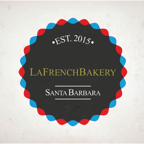 Creation of a logo for a french bakery in California