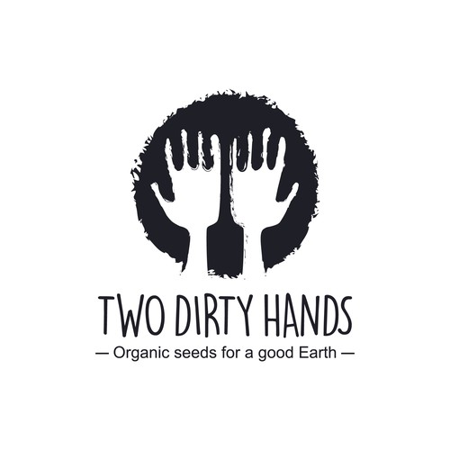 two ditry hands