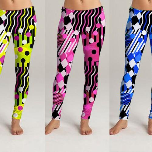 Fabric patterns for leggins