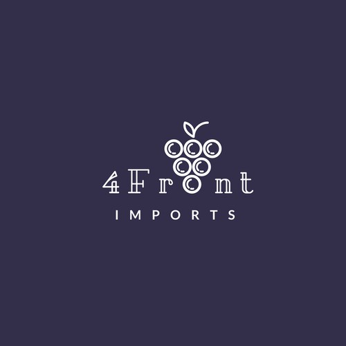 Logo Concept for Wine Import Company