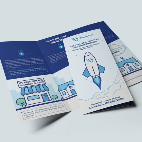 Delivery services company brochure