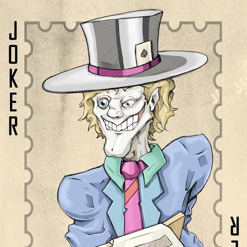 Joker card for poker