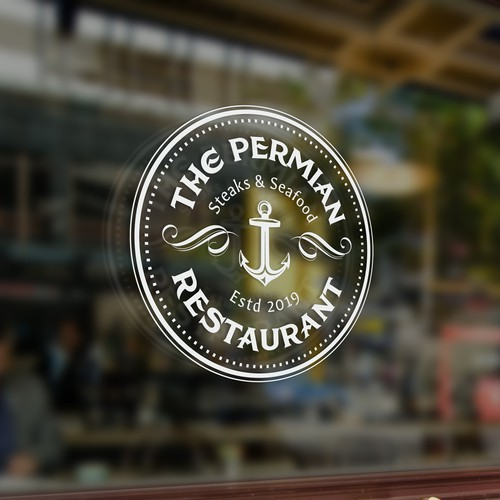 Logo for seafood restaurant