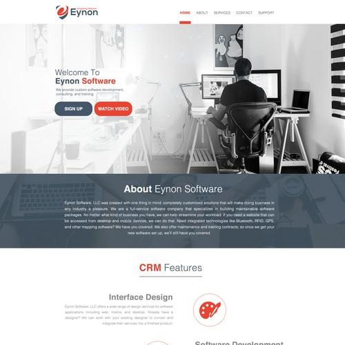Landing Page Design Contest
