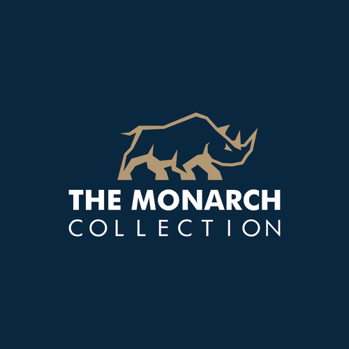 Bold logo for luxury african safari company
