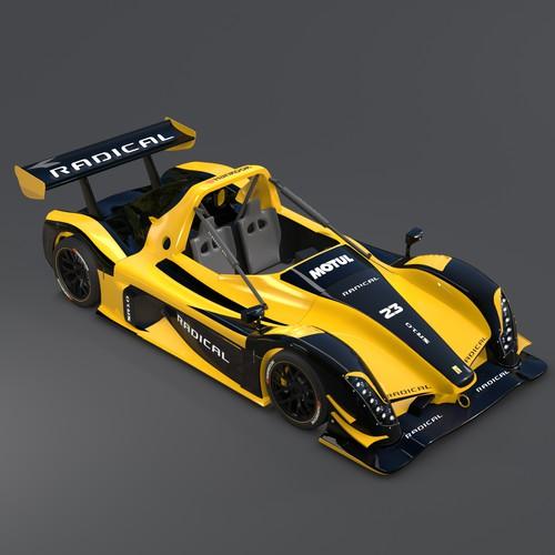 Radical Race Car Wrap / Livery