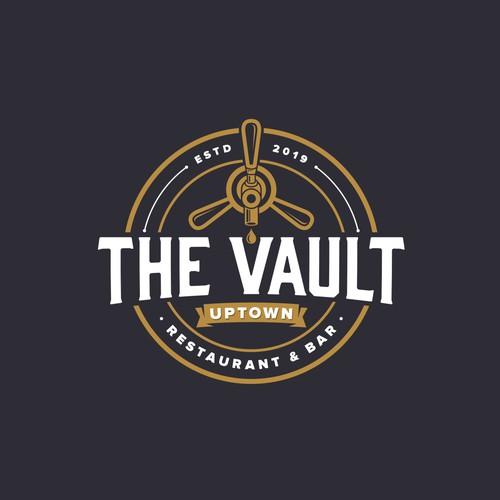 The Vault Uptown logo