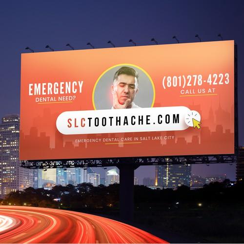 Billboard for an Emergency Dentist