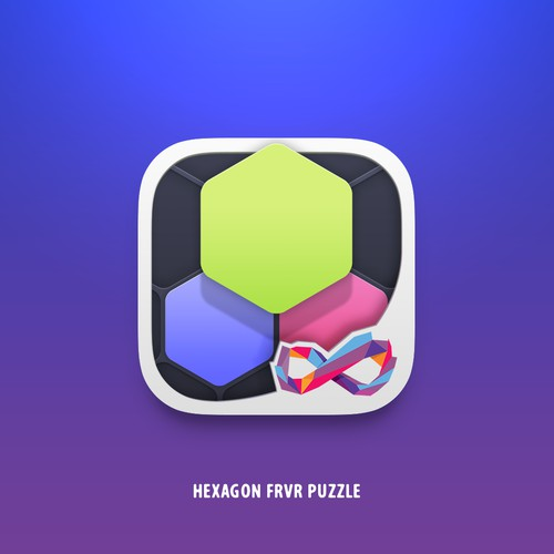 Hexagon Puzzle Game Icon