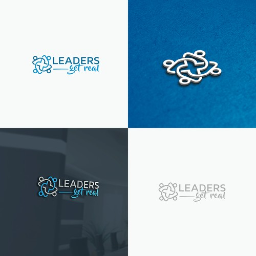 Leaders Get Real Logo