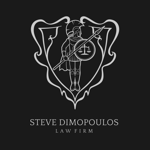 Create an emblem for a high-end law firm