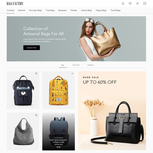 Luxury Bags Online store
