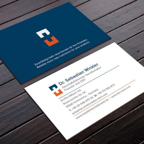 Best Business Card Design that bleeds trust