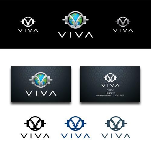 VIVA Logo Design