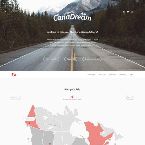 RV Rental Website Concept - Part 1