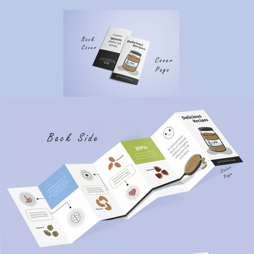 Breakfast recipes leaflet