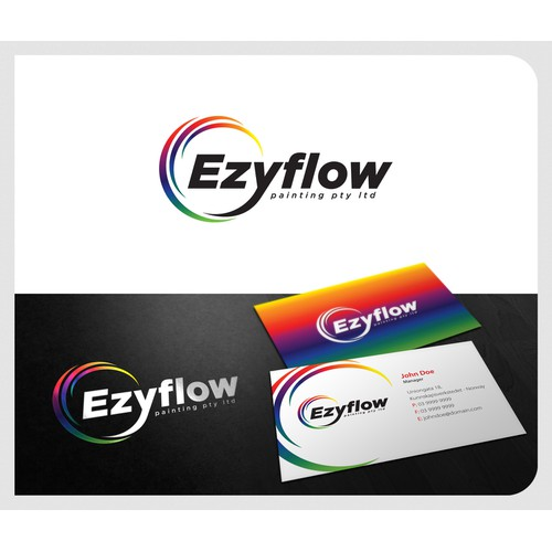 Ezyflow painting pty ltd needs a new logo
