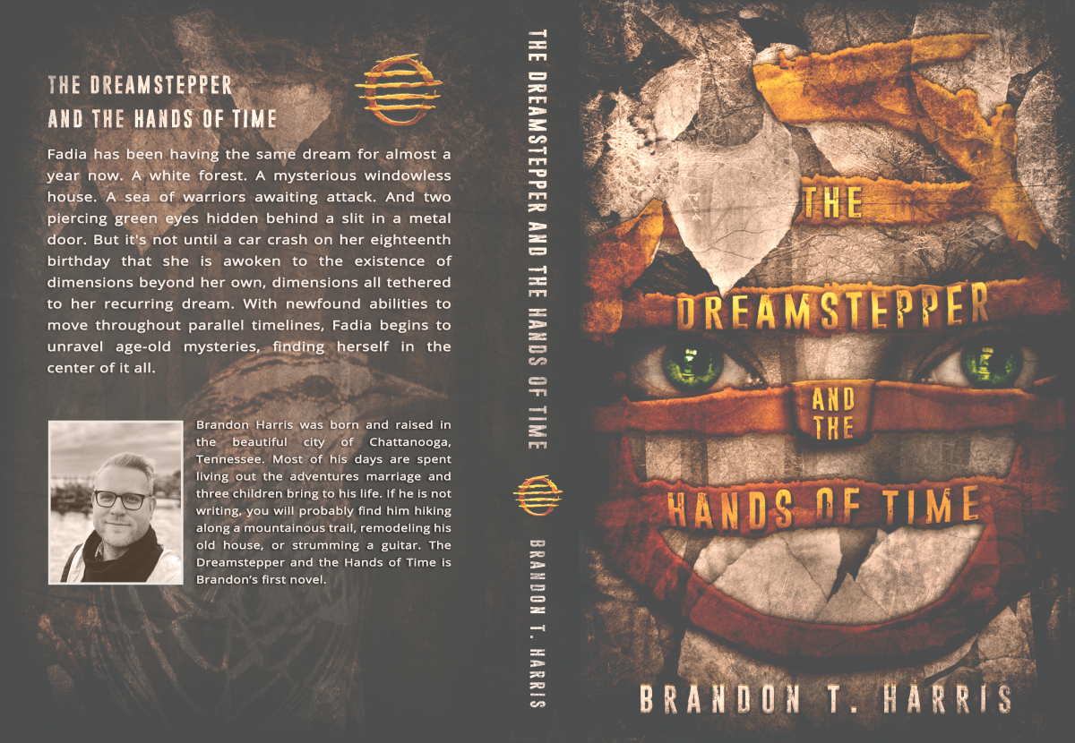 Book Cover Design: The Dreamstepper and the Hands of Time