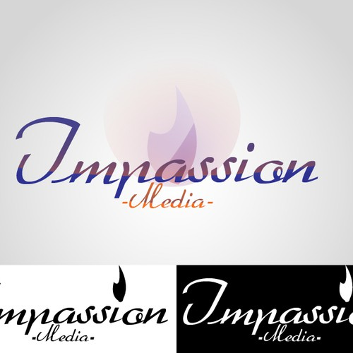 Design a logo for Impassion Media that reflects the passion and energy of our brand!