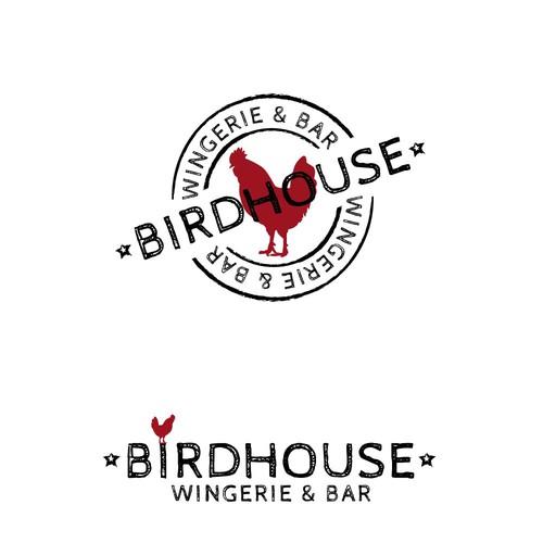 Birdhouse Wingerie & Bar Logo
