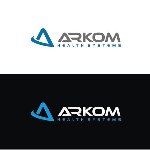 Create a logo for Arkom Health Systems