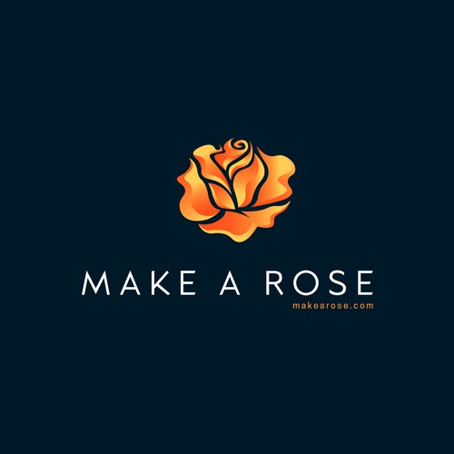 Make a Rose with Love...and fire and steel and hammers!