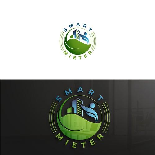 Smart Mieter logo design