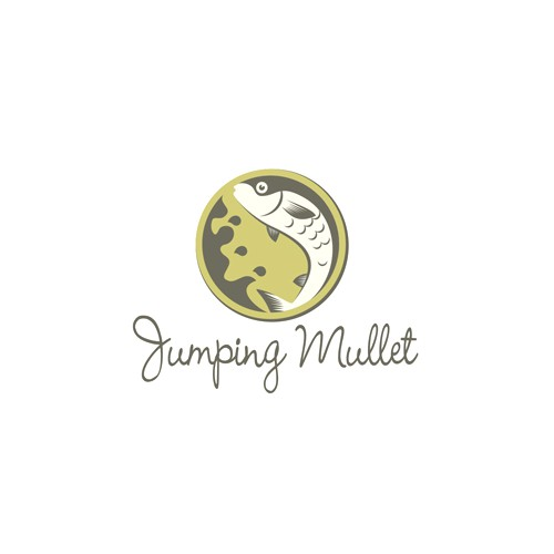 Create the next logo for Jumping Mullet