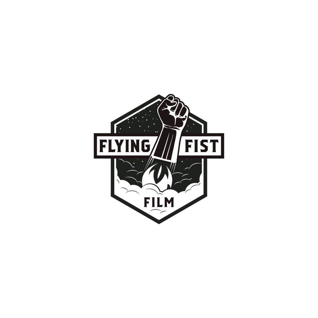Flying Fist Film are searching for a recognizable Logo: a flying fist.