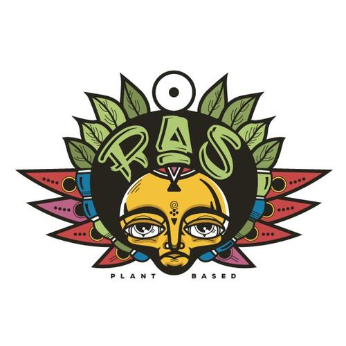 Plant based Ethiopian restaurant logo