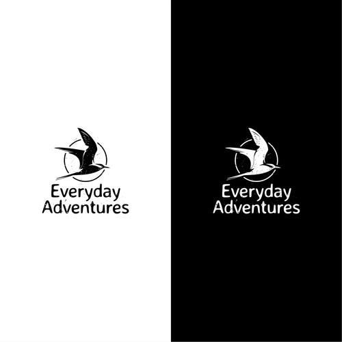 Logo concept for everyday adventures podcast