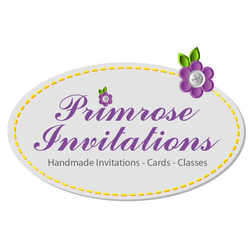 Primrose Invitations needs a new logo