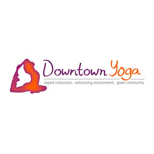 Create the next logo for Downtown Yoga