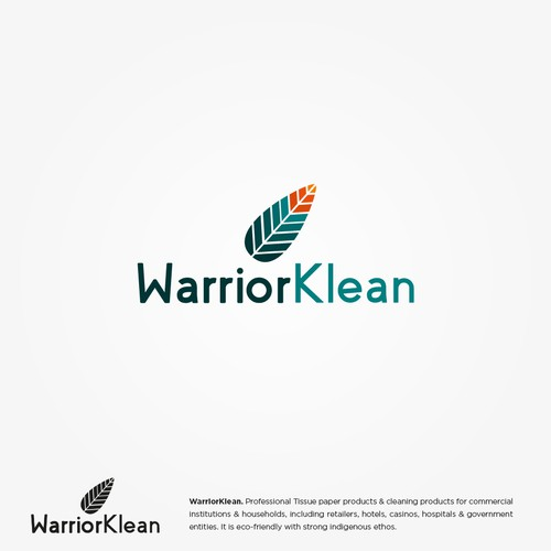 Cleaning products company logo