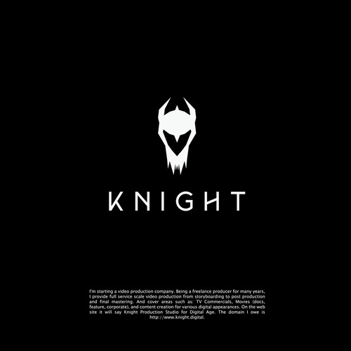 Logo concept for KNIGHT PRODUCTION