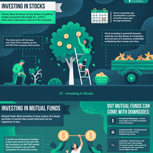 ProjectFinance Infographic