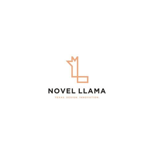 L llama logo