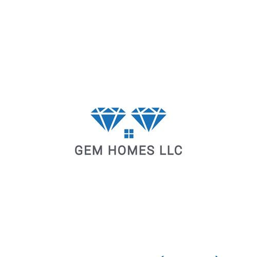 Bold Logo of Gem homes
