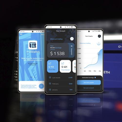 App design for TraWallet