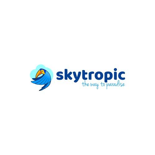 Logo for travel service