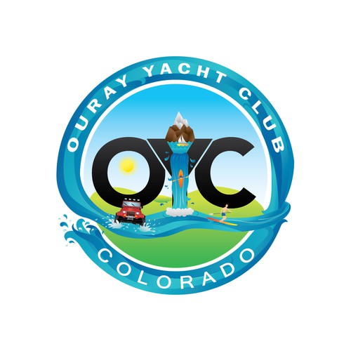 Logo for yacht club.