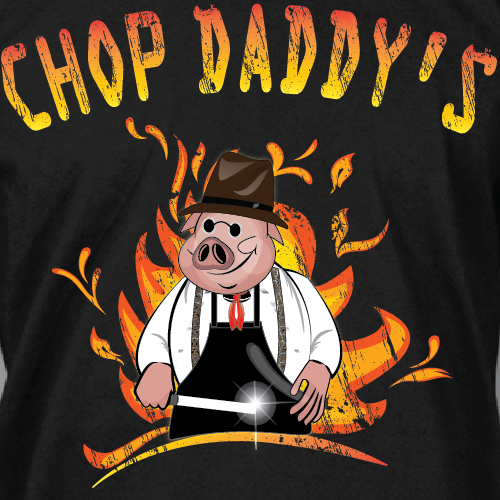 tshirts for barbeque restaurant