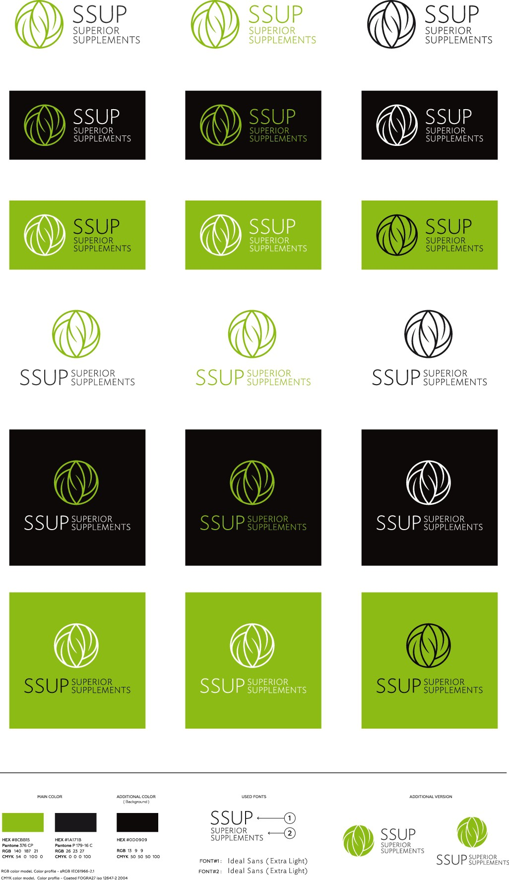 Who will design our 'Ssup. logo and house-style?