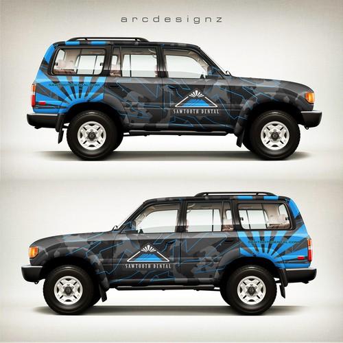 Land cruiser wrap for sawtooth dental